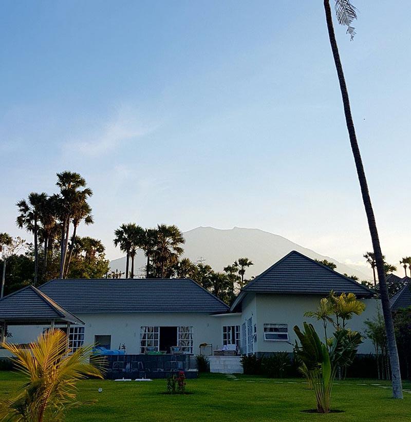 Aktuální stav hory Agung