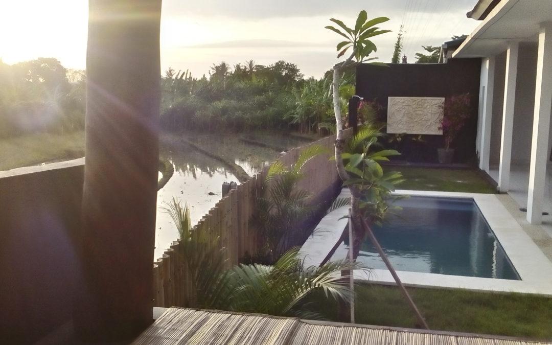 Přiletěli jsme na Bali