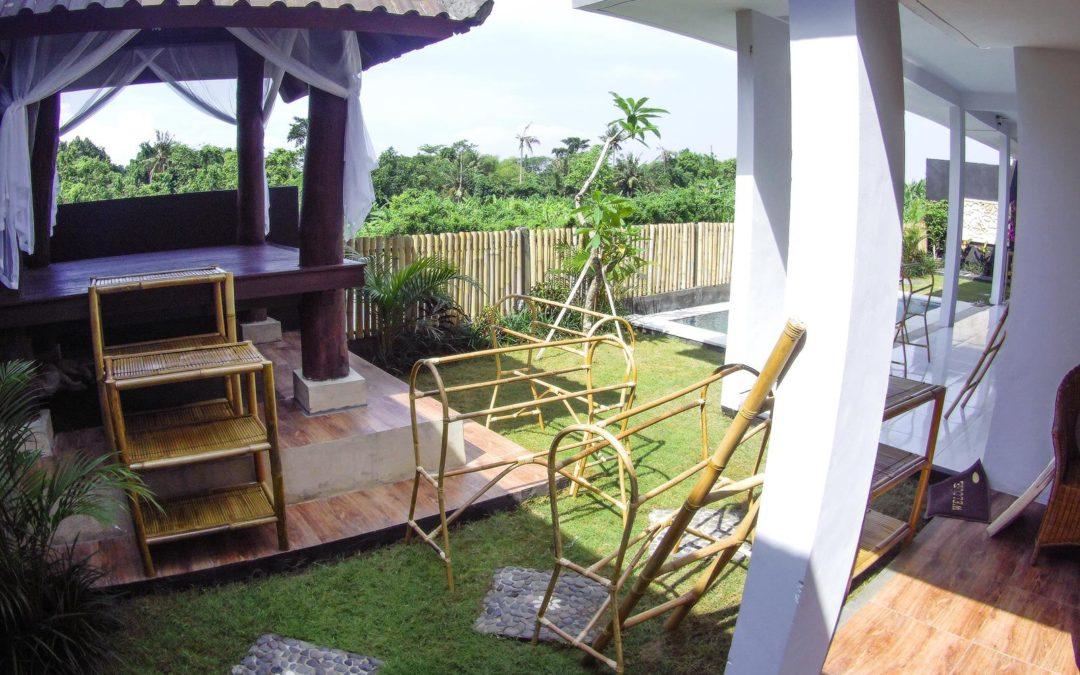 Jak jsme zařizovali naši vilku na Bali