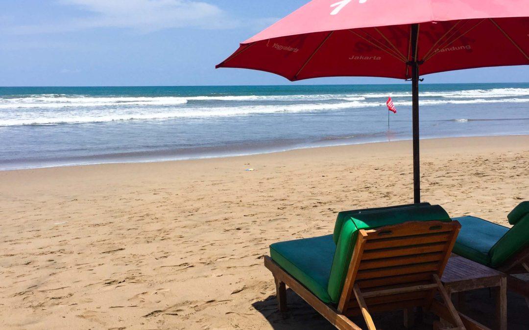 Pláže na Bali