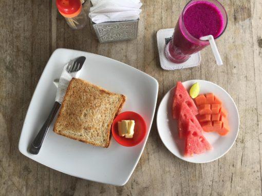 Snídaně a večeře v soukromé vilce