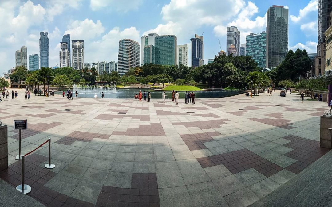 Kuala Lumpur město businessmanů